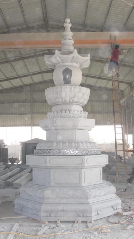 石雕寺廟舍利塔