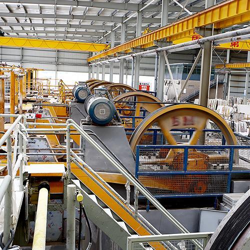 大理石拉锯机台