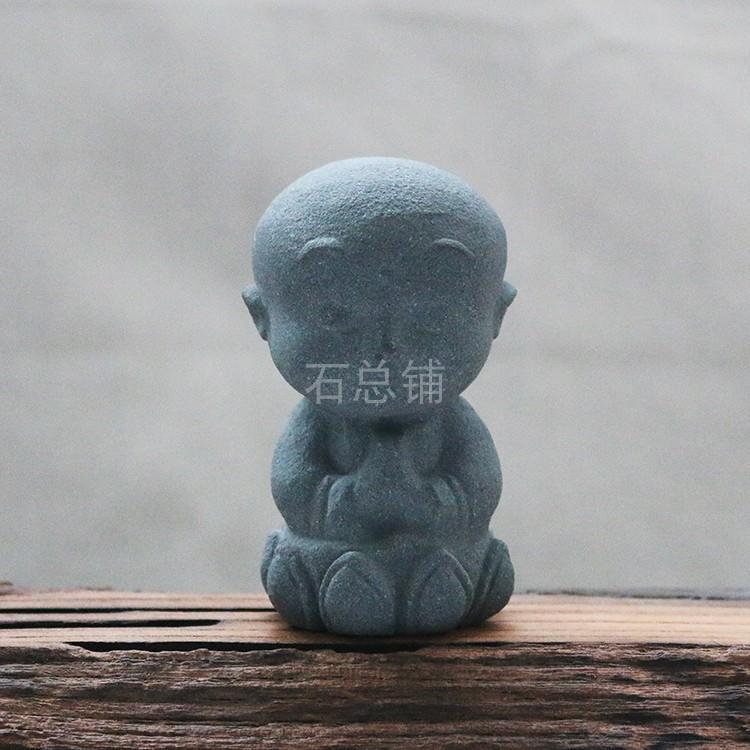 天然小沙弥艺术茶宠