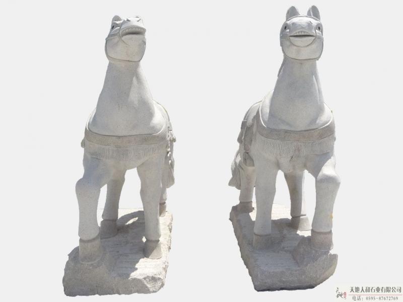 石雕-马2