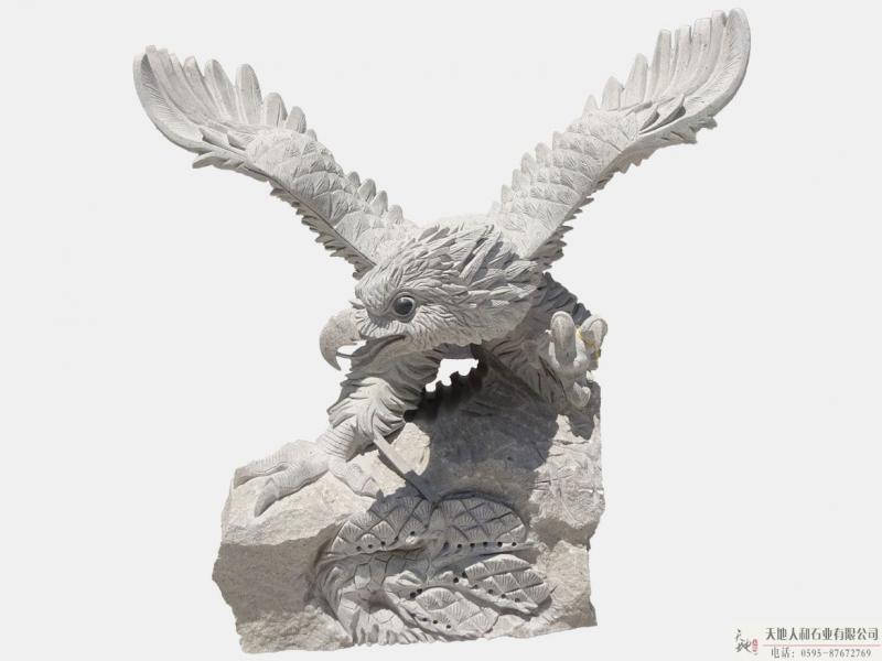 石雕-老鹰