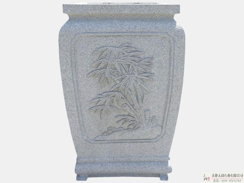 石雕-花盆