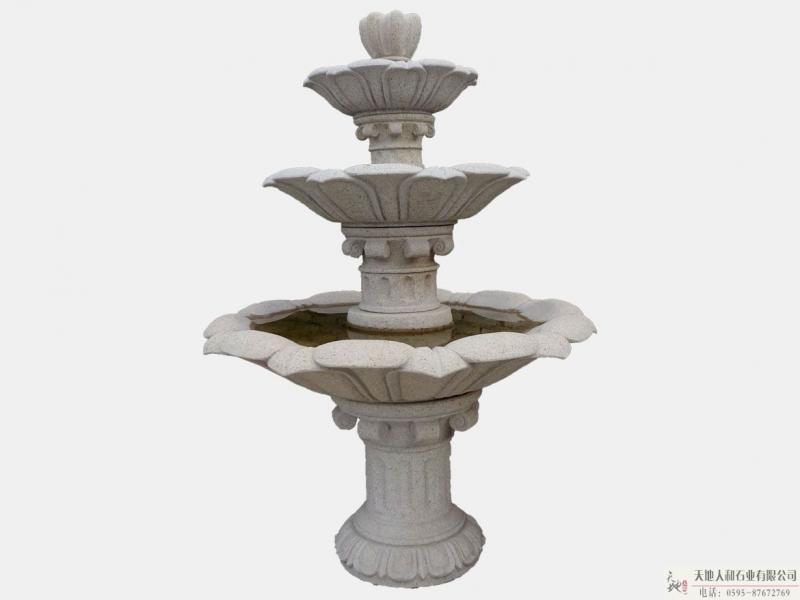 石雕-喷水池2