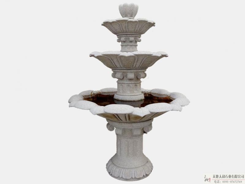 石雕-喷水池3