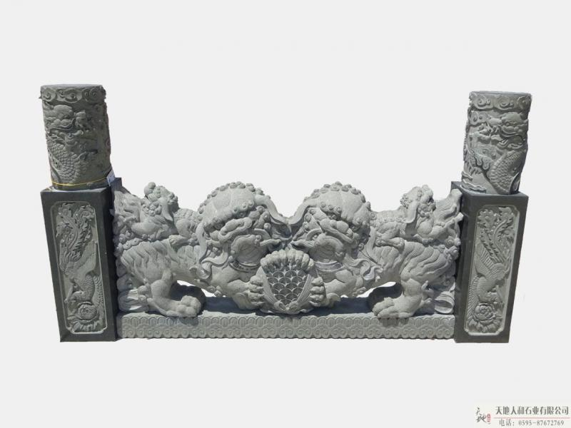 石雕-栏杆3