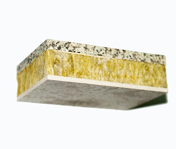 銷售石材巖棉保溫一體板