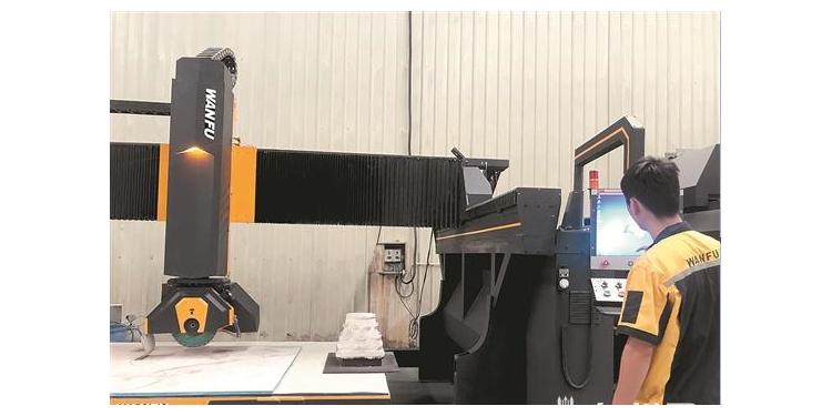南安石材机械辅料产业剑指全球
