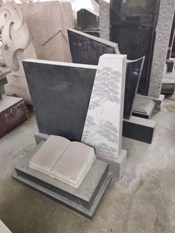 厂家供应陵园墓碑石墓碑、墓碑墓碑款式等
