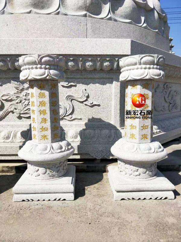 廠家供應寺廟古建出食臺雕刻設計