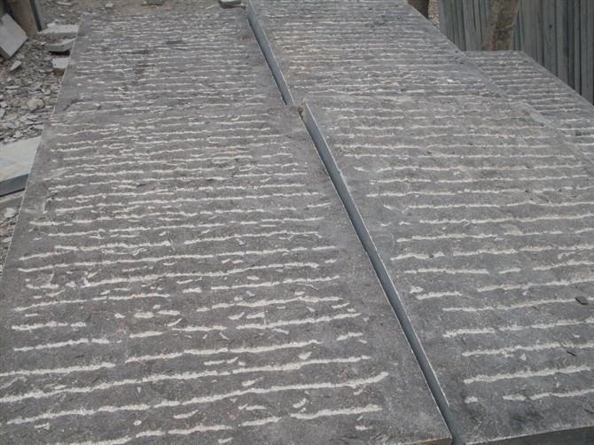 青石鑿道石、鑿道面青石板、鏨道面青石板