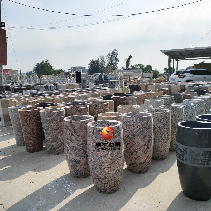 厂家供应景观工程居家现代雕刻洗手钵