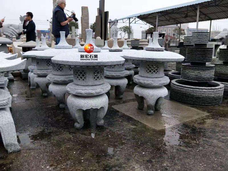 厂家供应户外景观园林庭院广场石雕石灯笼