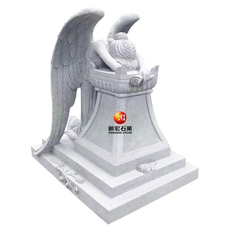 厂家供应陵园墓碑石墓碑、欧式人物天使墓碑墓碑款式等