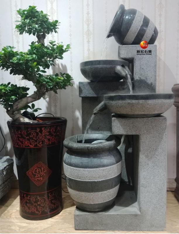 厂家供应办公室内客厅户外庭院景观流水装饰雕刻设计