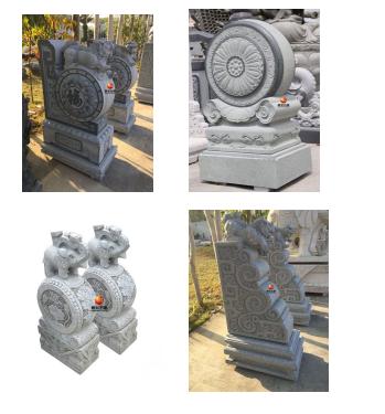 厂家供应石雕门墩多种天然石材雕刻