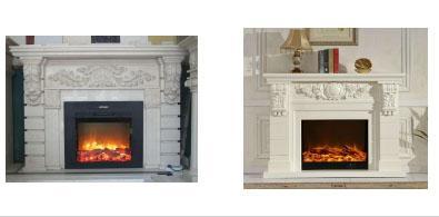 廠家供應石壁爐架歐式天然石材美式簡約別墅客廳石材壁爐裝飾