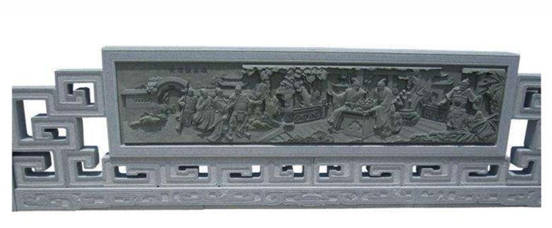 厂家供应古建寺庙石雕青石栏杆河道护栏杆景区石栏杆定制