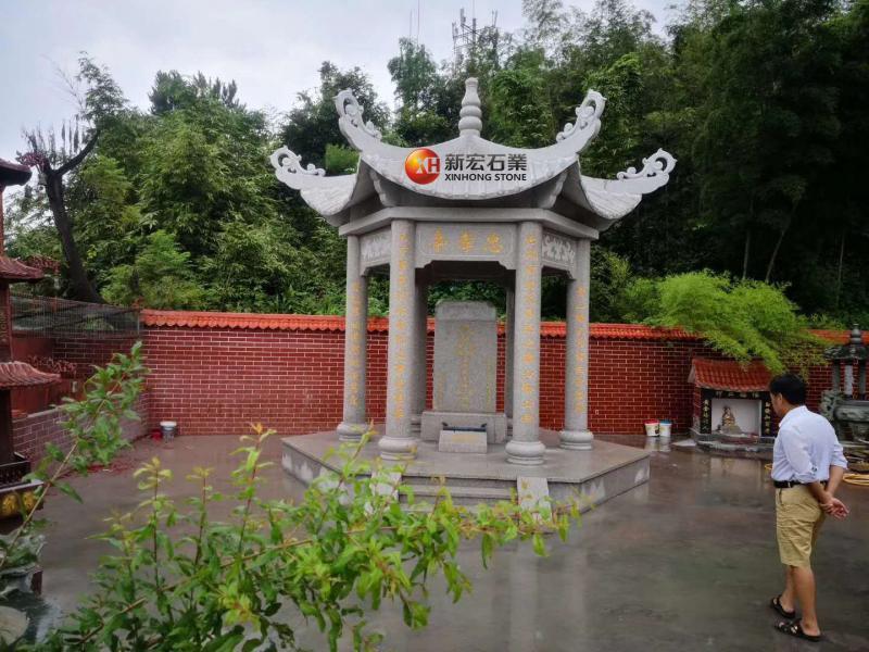 厂家供应凉亭小区公园寺庙户外六角亭子中式亭子庭院背景雕刻
