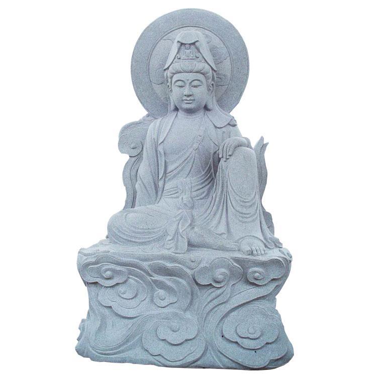 厂家供应寺庙古建广场工程石雕三十三观音菩萨雕像雕刻设计