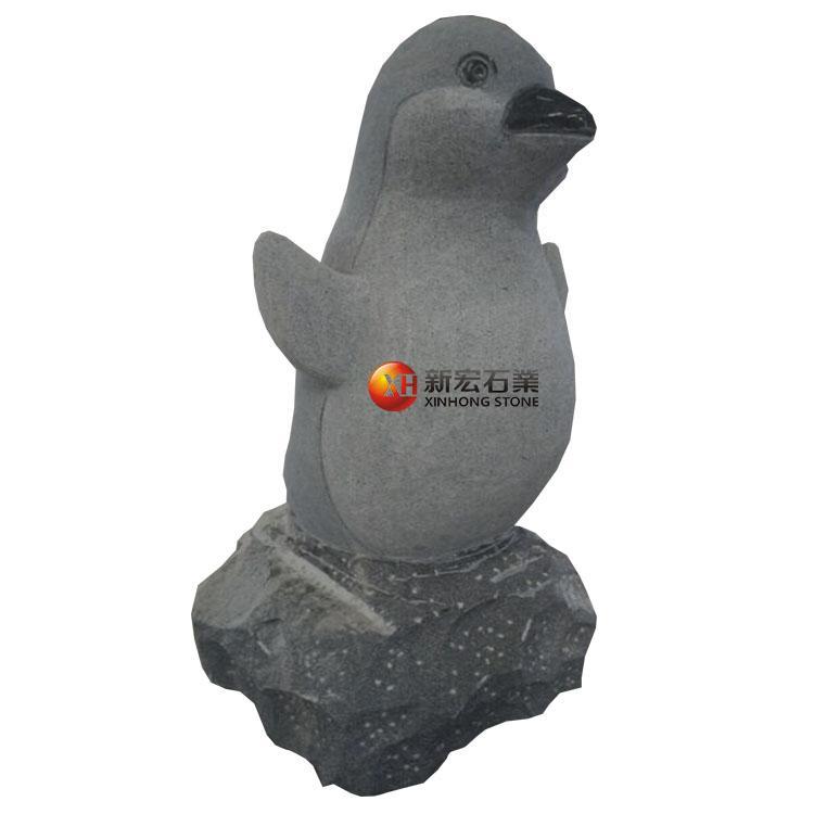 厂家供应景观广场公园校公园企鹅雕塑海洋馆游乐场摆件雕刻