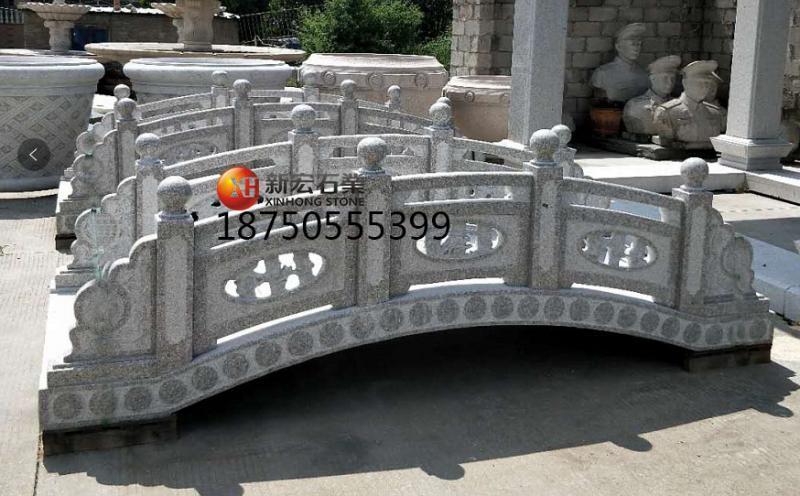 厂家供应园林景观公园广场石雕拱桥雕刻设计