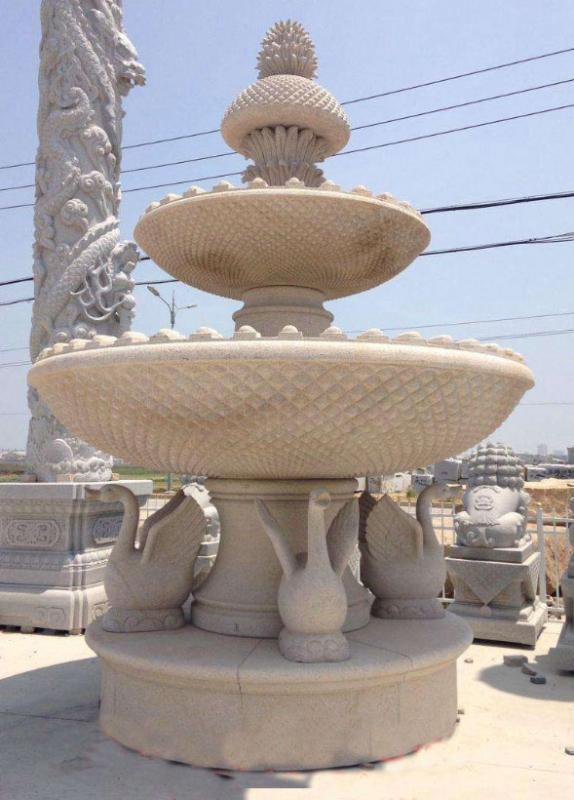 厂家供应景观酒店广场工程景观喷泉酒店庭院户外雕塑雕刻