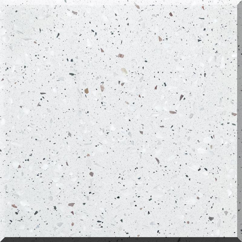 冰河白(水磨石)