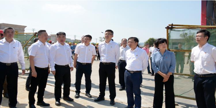 南安石材机械辅料展贸城项目举行开工仪式