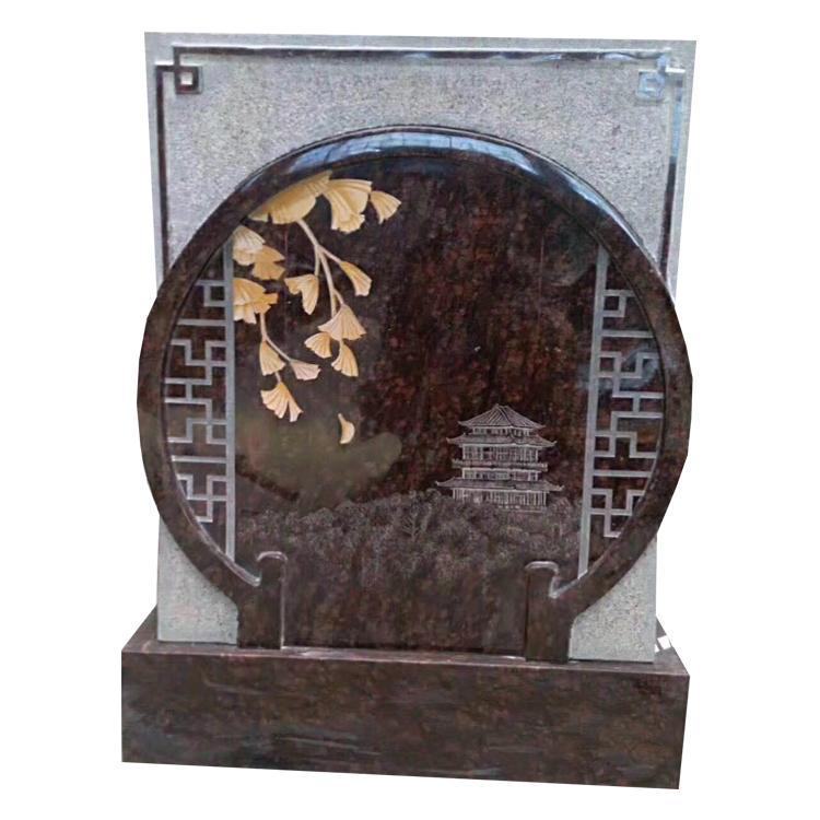 厂家供应陵园石雕墓碑 中式墓碑 国内墓碑 家族墓碑