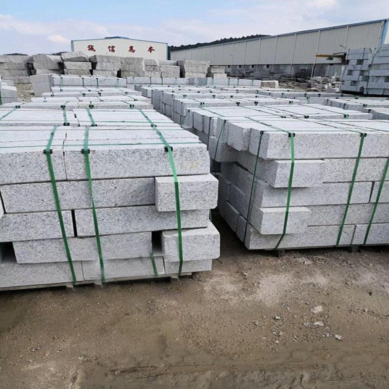 廠家直銷黃銹石白銹石芝麻灰路沿石規格齊全價格低