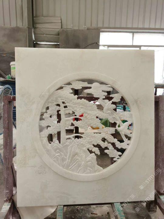 镂空雕刻cnc雕刻水景雕刻浮雕地雕创意雕刻