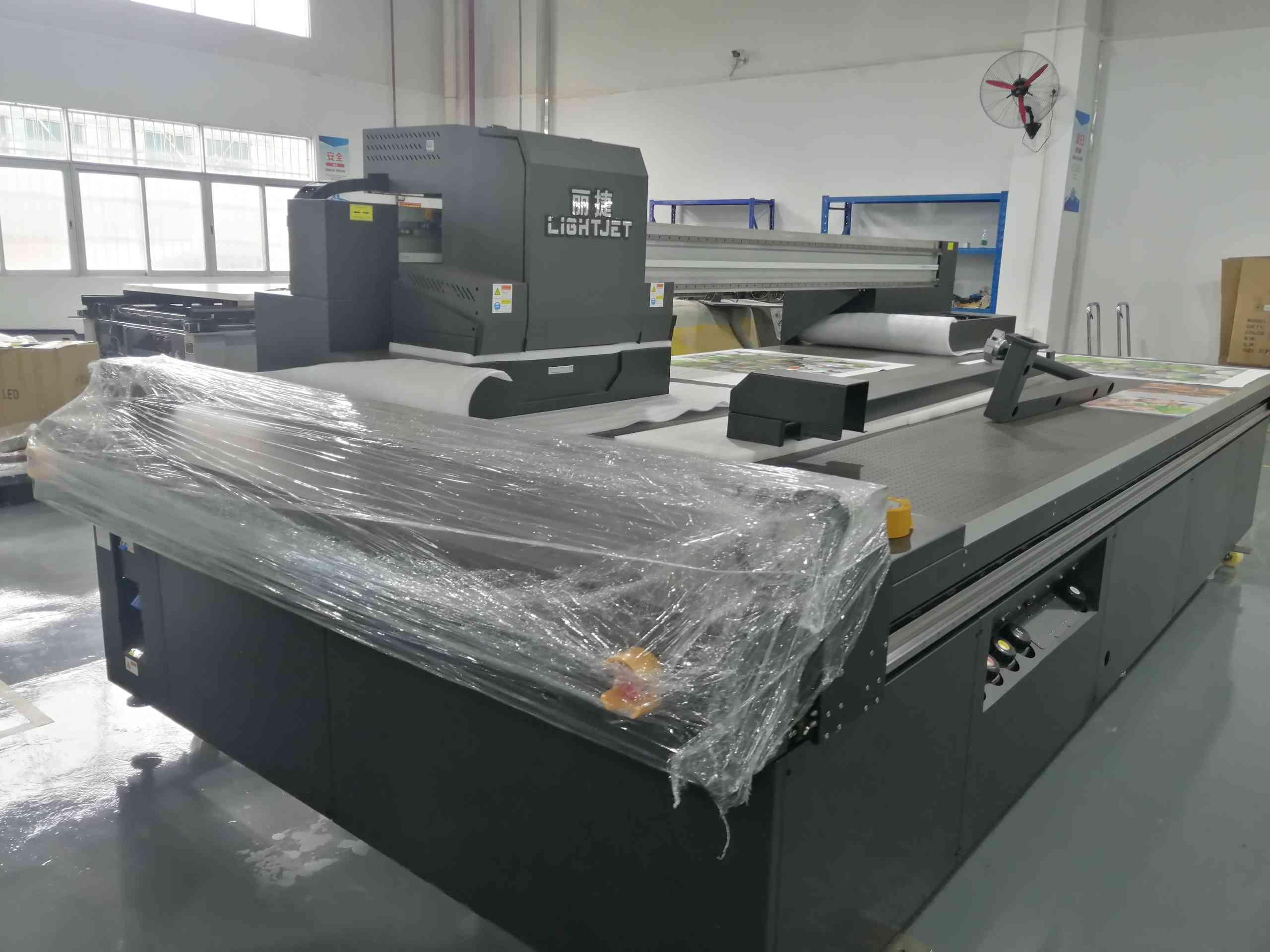 丽捷牌高速石材大板UV平板打印机