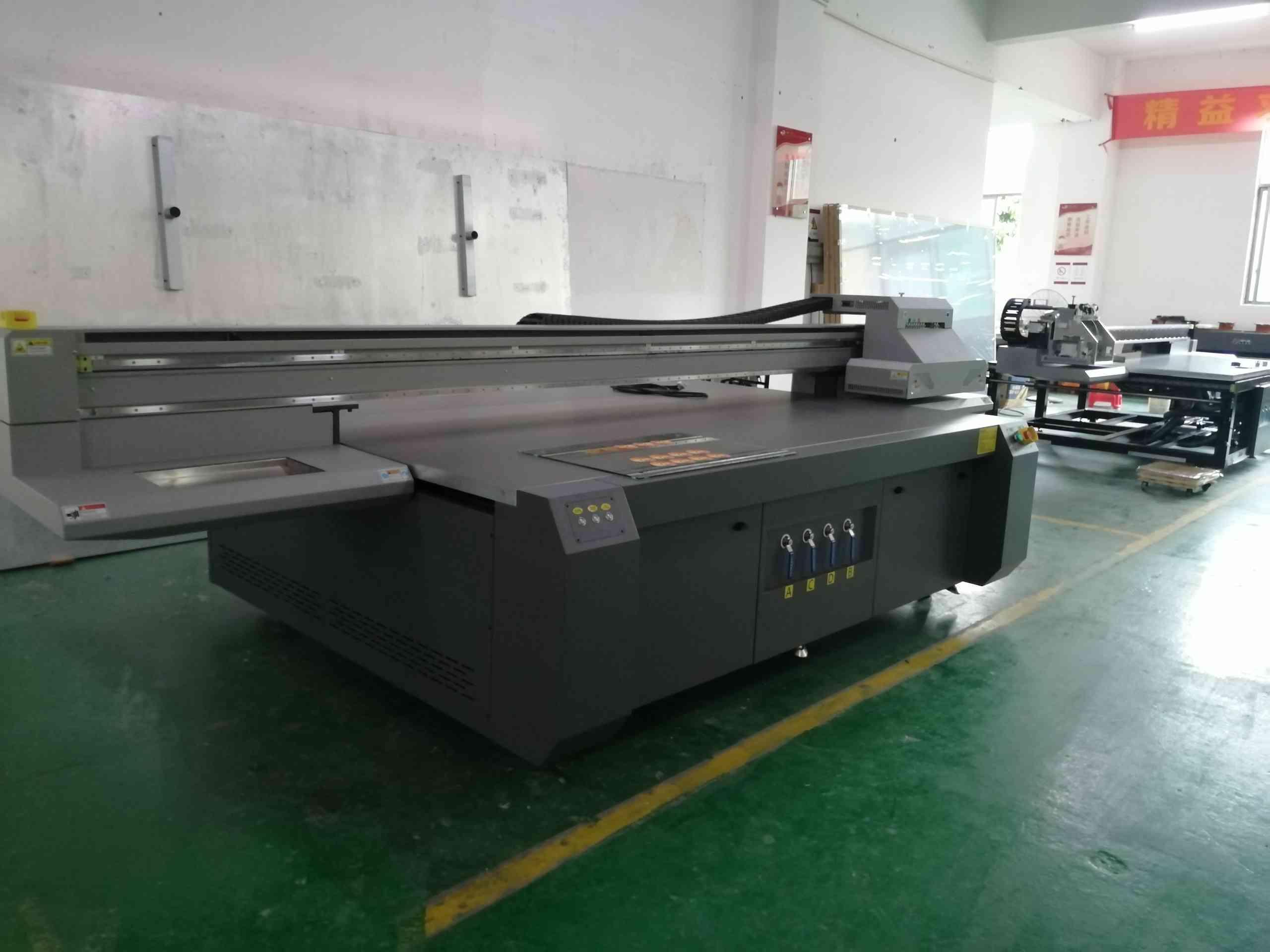 丽捷3220E简配30平方每小时的岗石UV打印机