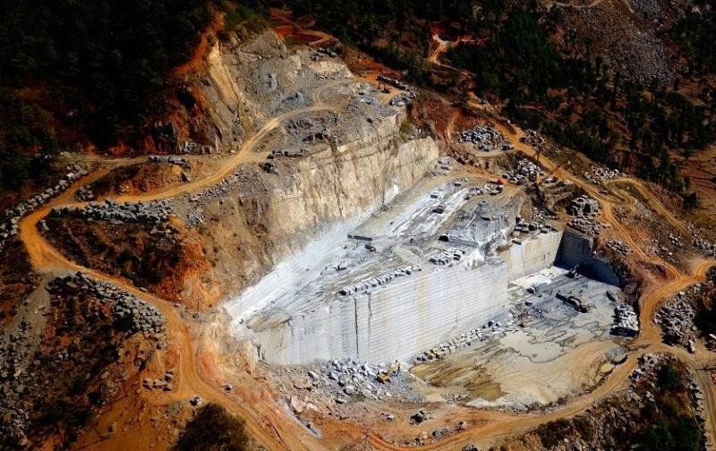冰花藍礦山