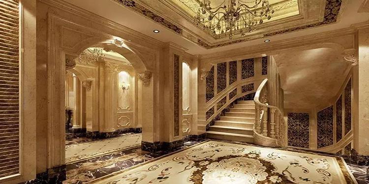 别墅石材楼梯如何做?尺寸、宽度、坡度及测量方法!