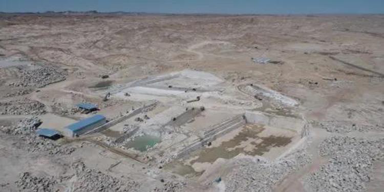 酒泉市肅北縣花崗巖礦區石材集中生產加工產業園區項目正式投產