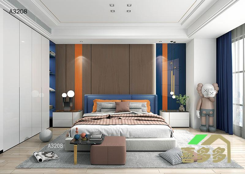 卧室背景  A3208