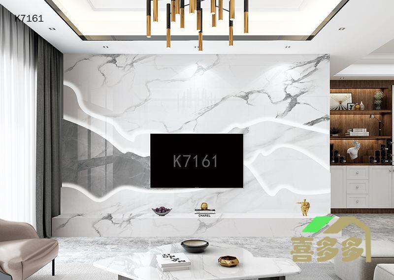 叠成背景墙  K7161