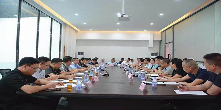 华侨大学师生走访调研南安市石材产业座谈会在水头召开