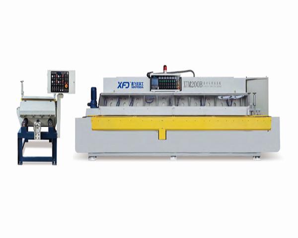 XTM10-200B(3+7)10头全自动石材线条机
