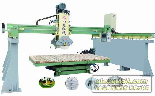 三维桥式自动石材切割机械