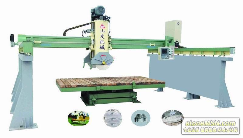 三維橋式自動石材切割機械