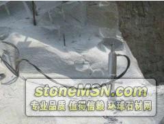 玉石开采设备劈石机