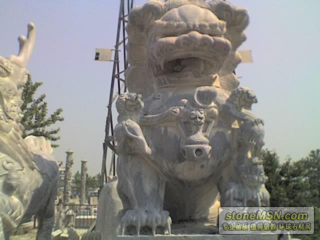 供應青石石獅,山東石獅,石灰巖石獅 北京石獅 門前石獅 批發