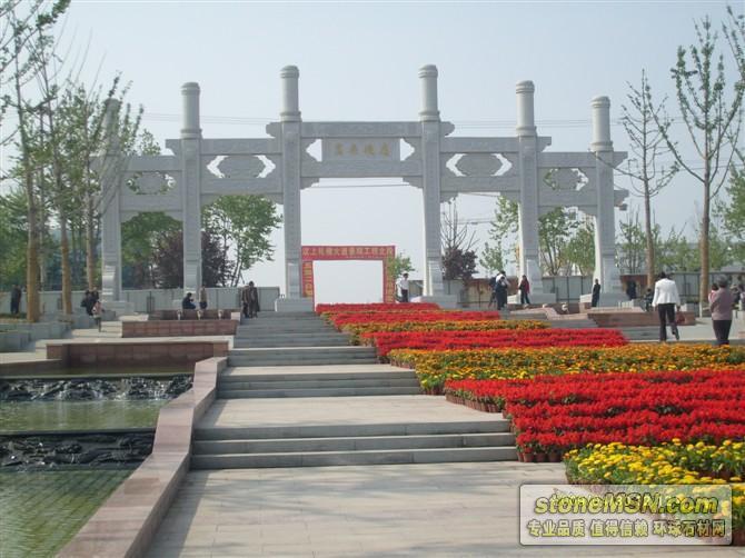 青石/汉白玉石牌楼|栏杆|石亭|过桥|雕刻