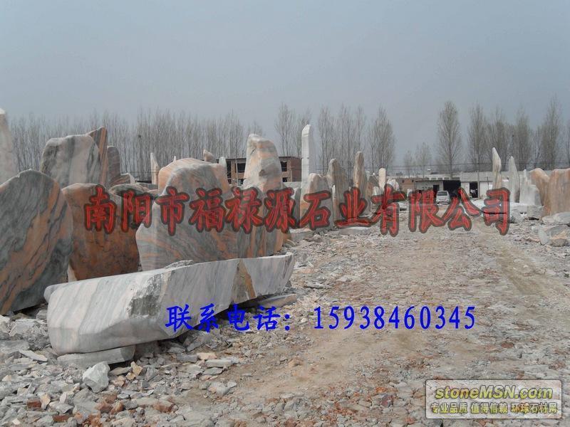 厂家销售河南省南阳市石桌花岗岩批发、石象加工 找福禄源石材