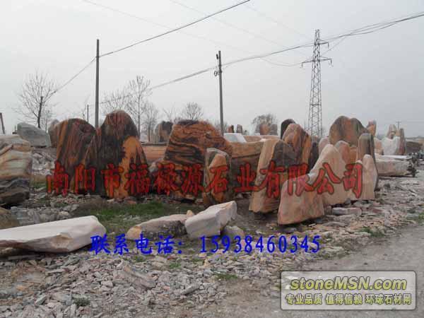 廠家銷售河南省南陽市三峽石、假山石批發、花崗巖加工