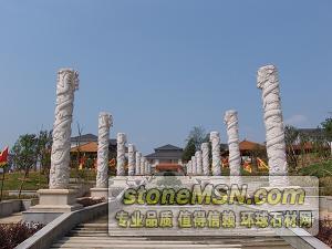 供應石雕龍柱,巧工石雕龍柱,專業石雕龍柱
