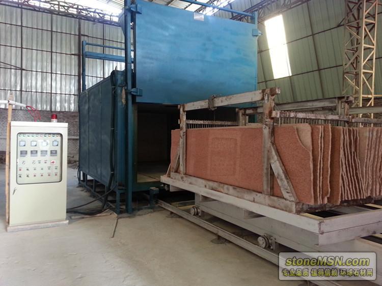 電解爐 石材電解爐 石材染色爐 石材改色爐 石材烘烤爐