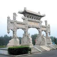 供应石雕牌坊石雕工艺品低价出售